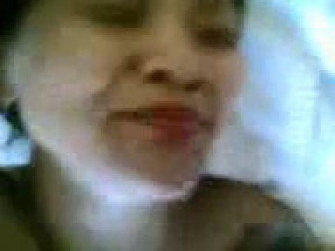 Казашка соснула член и получила сперму на свое лицо