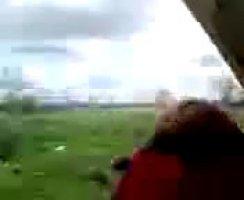 Чеченец нашампурил свою пьяную соседку и кончил ей в киску
