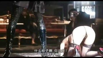 Японская лебиянка трахает свою подругу в пизду